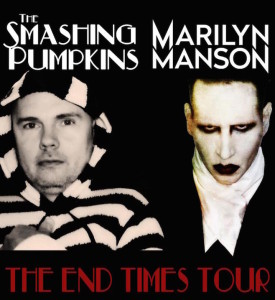 the end tour poster
