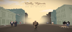 billy roberts go by myself album cover