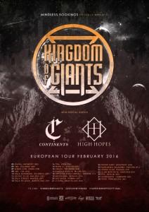 continents tour dates