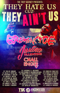 brokencyde tour poster
