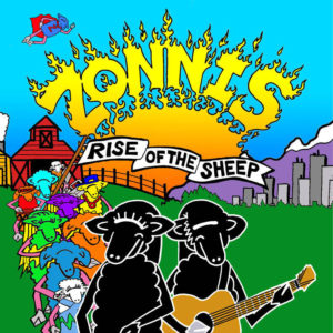 zonnis rise of the sheep album cover